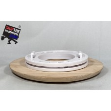 Spacepak 45AC-TRM-ROOS Unfinished Red Oak Surface Mount Outlet Cover