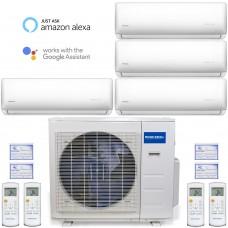 Mr. Cool MULTI4-36HP230V1 4-Zone 36k Btu System (16 Combinations)