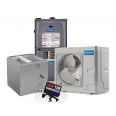 Mr. Cool 3 Ton Inverter Complete Dual Fuel Upflow System