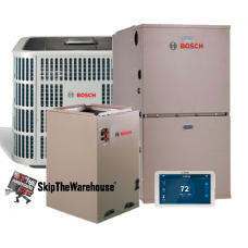 Bosch 5 Ton 18 SEER with Air Handler and 10kw Heater
