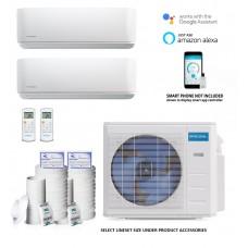 Mr. Cool DIY-MULTI3-27HP230 3-Zone Heat Pump (11 Combinations)