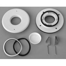 "Unico UPC-89TMF-1 2"" Flat Metal Duct Install Kit - 1 Run"