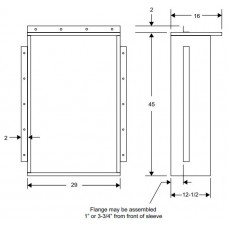 Magic Pack CA239 Wall Sleeve for HWC Model
