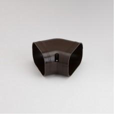 "SlimDuct SKF100B 3-3/4"" Brown 45° Flat Elbow"