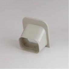 """SlimDuct SP100I 3-3/4"""" Ivory Soffit Inlet"""