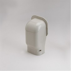 """SlimDuct SW100I 3-3/4"""" Ivory Wall Inlet"""