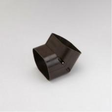 """SlimDuct SCF100B 3-3/4"""" Brown 45° Vertical Elbow"""