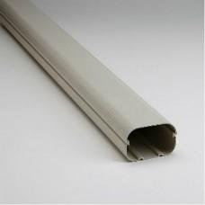 "SlimDuct SD100I 78"" x 3-3/4"" Ivory Line Set Ducting"