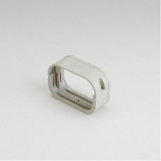 "SlimDuct SFJ100I 3-3/4"" Ivory Flexible Adapter"