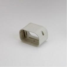 """SlimDuct SJ100I 3-3/4"""" Ivory Coupler"""