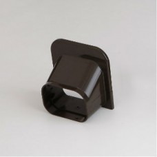 "SlimDuct SP100B 3-3/4"" Brown Soffit Inlet"