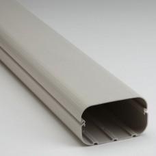 "SlimDuct SD140I 78"" x 5 1/2"" Ivory Line Set Ducting"