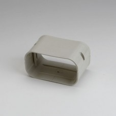 """SlimDuct SJ140I 5-1/2"""" Ivory Coupler"""