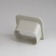 """SlimDuct SP140I 5-1/2"""" Ivory Soffit Inlet"""