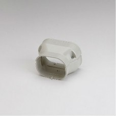 "SlimDuct SDR10077I 3-3/4"" - 2-3/4"" Ivory Reducer"