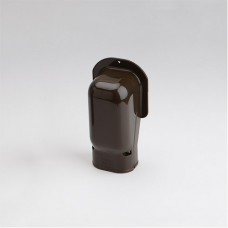 """SlimDuct SW77B 2-3/4"""" Brown Wall Inlet"""