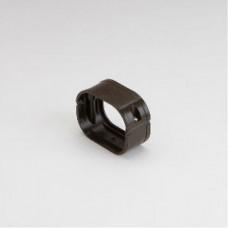 "SlimDuct SFJ77B 2-3/4"" Brown Flexible Adaptor"