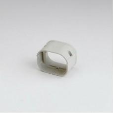 "SlimDuct SFJ77I 2-3/4"" Ivory Flexible Adaptor"