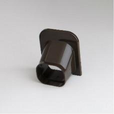 "SlimDuct SP77B 2-3/4"" Brown Soffit Inlet"