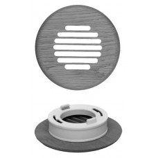 Spacepak 45AC-TRM-ROLS Unfinished Red Oak Louvered Surface Mount Outlet Cover