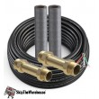 Mr. Cool DIYCOUPLER-1412K50 1/4 X 1/2 Coupler with 50' Wire