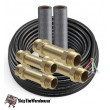 Mr. Cool DIYCOUPLER-1412K75 1/4 X 1/2 Coupler with 75' Wire