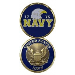 U.S. Navy Eagle Challenge Coin