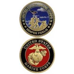 U.S. Marine Corps Challenge Coin