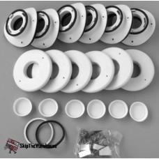 "Unico UPC-89TM-6 2"" Round Metal Plenum Install Kit"