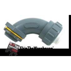 "DiversiTech 750-NMLT9050 1/2"" 90-Elbow Liquid Connector (Non-Metal)"