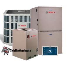 Bosch 18.5 SEER, 12.5 EER 5 Ton, 120k Btu Complete System