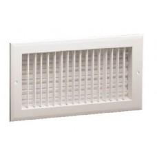 Hart & Cooley A618MS Aluminum Sidewall Multi-Shutter Registers 14 06 W