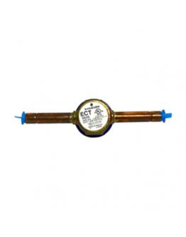 Copper Line Sight Glass Moisture Indicator (3/8 Inch)