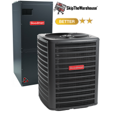 Goodman 3.5 Ton Heat Pump System 15 SEER