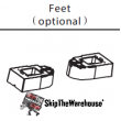 Spacepak 45AC-UTFT-2 Optional Floor Standard Supports (Pair)
