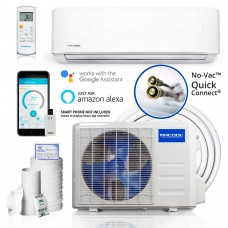 Mr. Cool DIY-12-HP-115AE Do-It-Yourself 500 sq. ft. Ductless Mini-Split