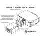 Spacepak EEH-020 2kW External Electric Heater