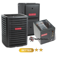 Goodman 1.5 Ton A/C 15 SEER with 96% 40k BTU Gas Furnace
