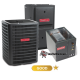 Goodman 3.5 Ton A/C 14.5 SEER with 96% 80k BTU Gas Furnace