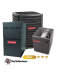 Goodman 4 Ton A/C 16 SEER with 80% 80k BTU Gas Furnace