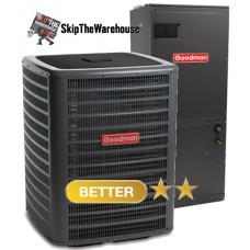 Goodman 2 Ton 16 SEER Two-Stage Heat Pump System