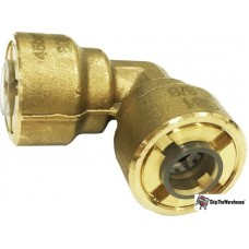 """1/4"""" 90 Elbow SBE14 Braze-Free Quick Connect Fitting"""