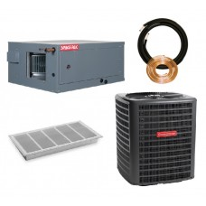 Spacepak 3.5 Ton Complete System - Square Plenum Duct - Heat Pump