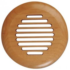 Spacepak AC-TRM-LS-FO Surface Mount Finished Oak Cover - Louvered