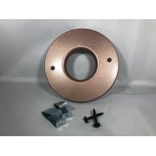 Spacepak BM-6845M Bronze Metallic Plastic Outlet Cover