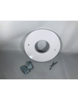 Spacepak BM-6845 Plastic White Outlet Cover