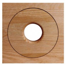 Spacepak AC-TRM-OF-UO Flush Mount Unfinished Oak Outlet Cover