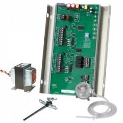 iO HVAC Controls ZP2-HC-ESP-KIT 2-ZONE SINGLE STAGE ZONE ESP PANEL KIT WITH STATIC PRESSURE SENSOR, DUCT TEMP SENSOR, AND 40VA TRANSFORMER