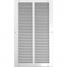 Accord 20W x 24H Return Air Grille 1/3 In White
