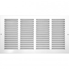 Accord 24W X 12H Return Air Grille 1/3In White